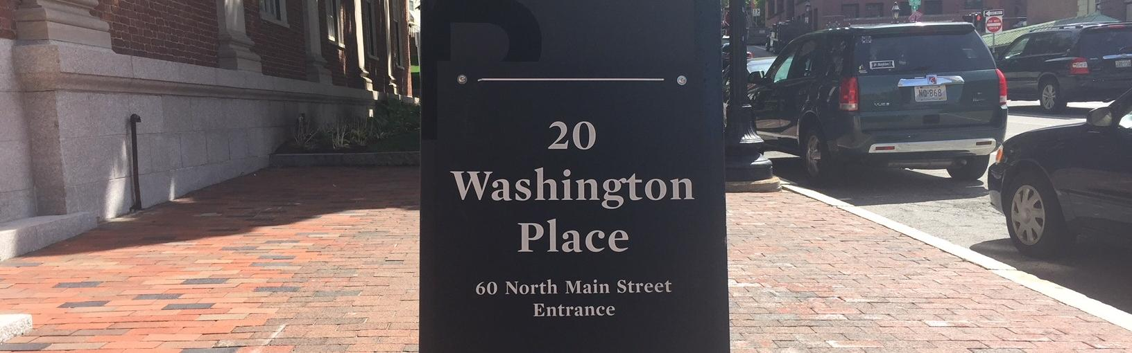 entrance to 20 Washington Place