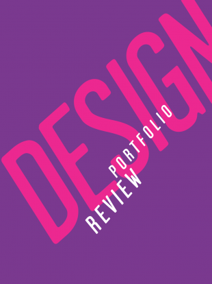 Design Portfolio Review logo