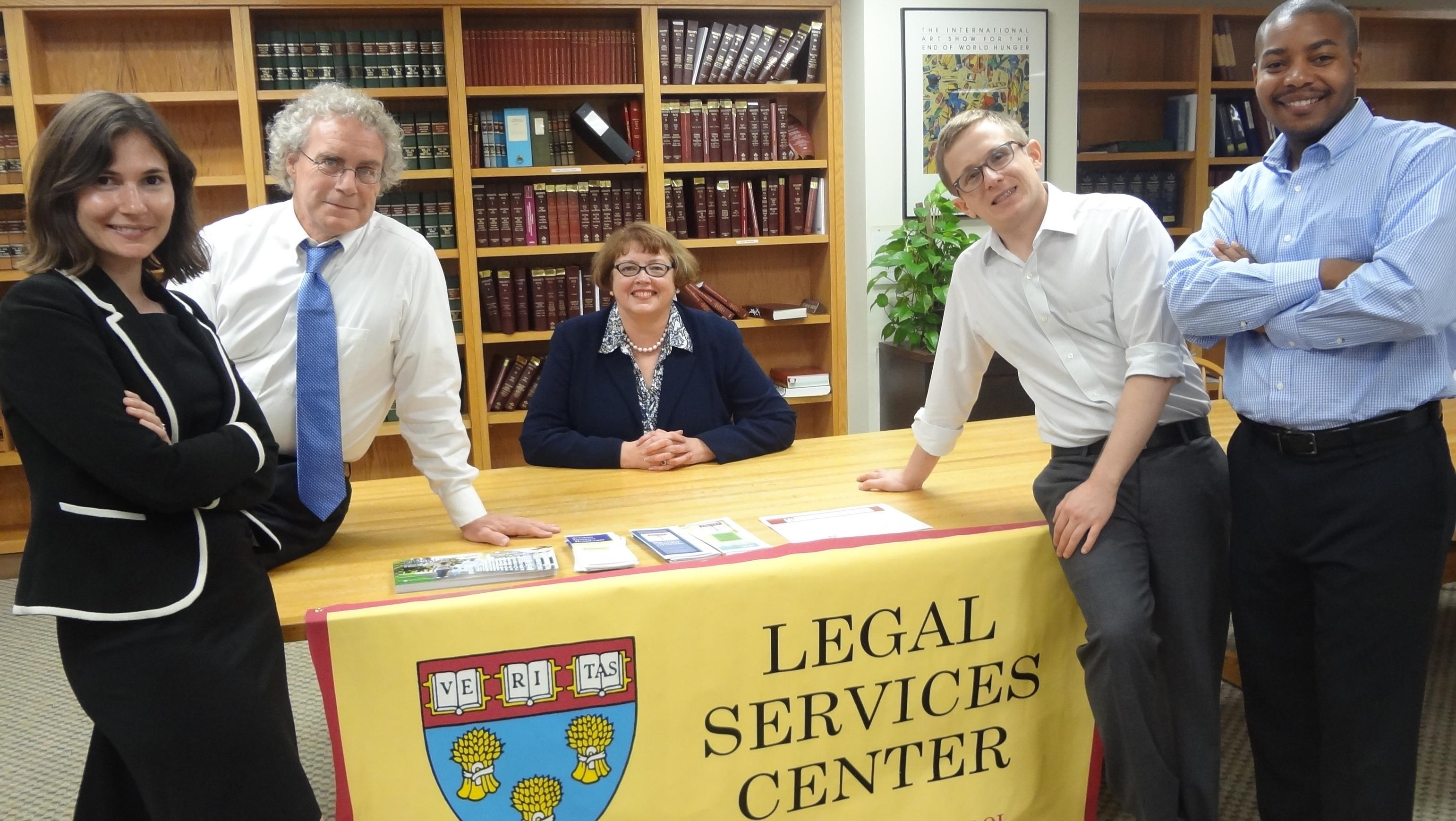 attorneys at a start up clinic