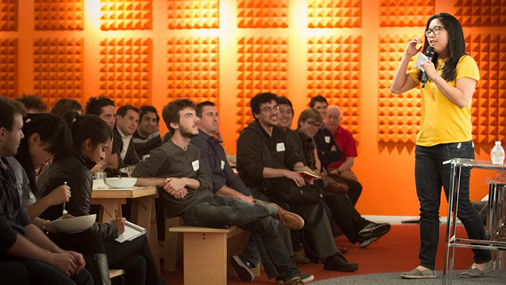 pitch at a y combinator event